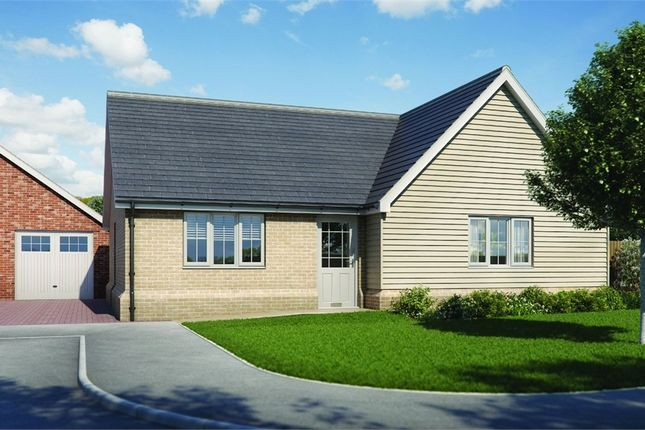 Thumbnail Detached bungalow for sale in Plot 5 'old Stables', Walton Road, Kirby-Le-Soken, Frinton-On-Sea, Essex