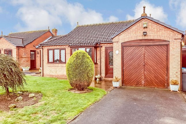 Thumbnail Detached bungalow for sale in Clifford Close, Glascote, Tamworth