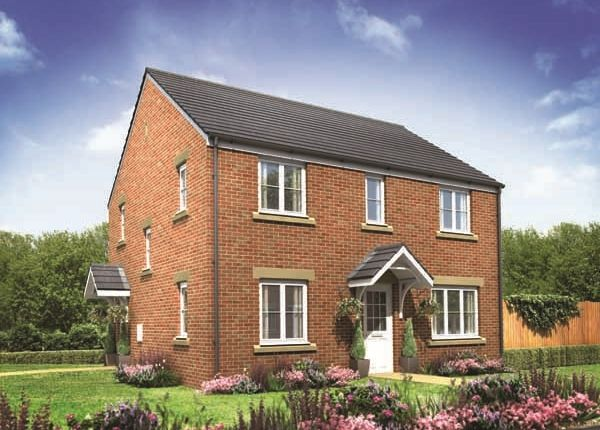 "Thumbnail Detached house for sale in ""The Chedworth Corner"" at Derwen View, Brackla, Bridgend"