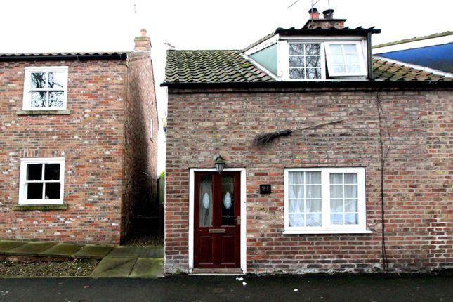 Thumbnail End terrace house for sale in Pulham Lane, Wetwang, Driffield