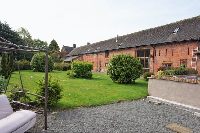 Thumbnail Barn conversion for sale in Moreton Street, Rural Prees