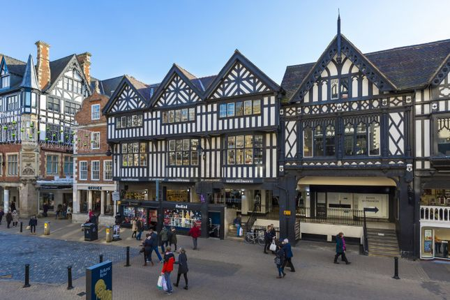 Retail premises to let in Eastgate Street & Eastgate Row, Chester