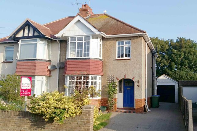 Thumbnail Semi-detached house to rent in Phrosso Road, Worthing
