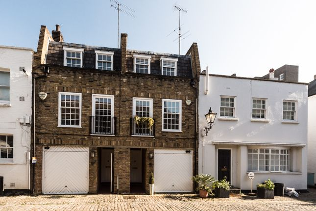 Thumbnail Mews house to rent in Montagu Mews North, London