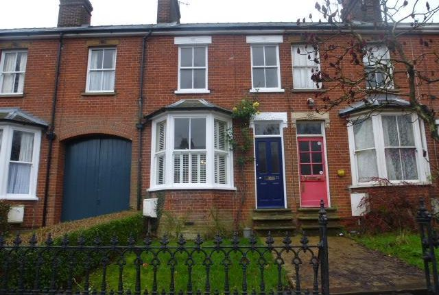 Thumbnail Terraced house to rent in York Road, Bury St. Edmunds