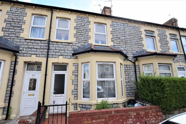Thumbnail Terraced house for sale in Castleland Street, Barry