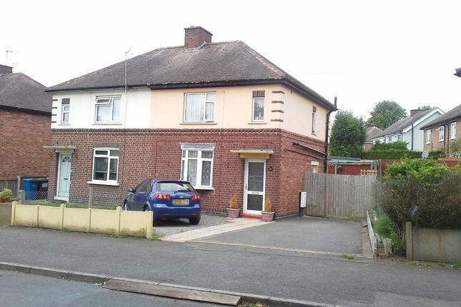 Thumbnail Semi-detached house to rent in Leedham Avenue, Tamworth