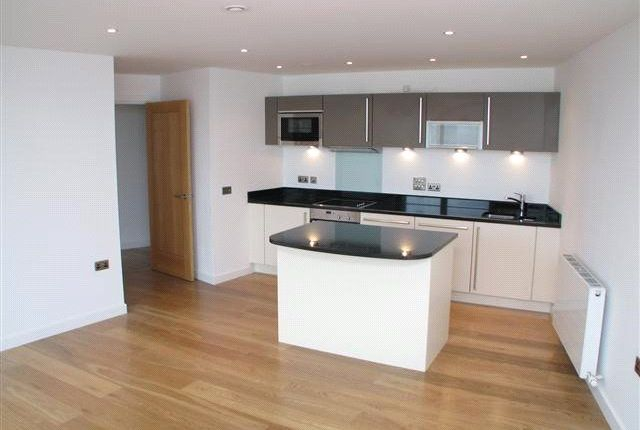 Thumbnail 1 bed flat to rent in Candle House, Wharf Approach, Leeds, West Yorkshire