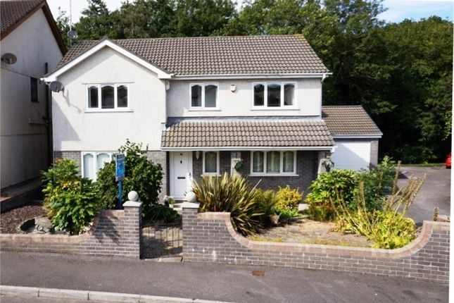 Thumbnail Detached house for sale in Swn Yr Afon, Kenfig Hill, Bridgend