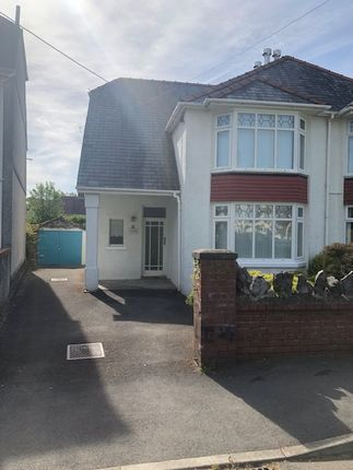 Thumbnail Semi-detached house to rent in Old Road, Ammanford