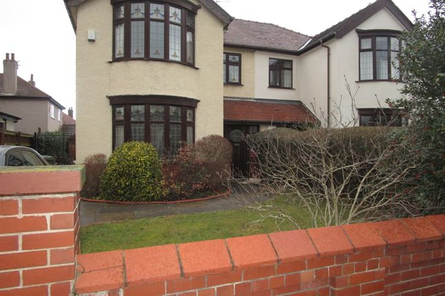 Thumbnail Semi-detached house to rent in Mersey Road, Crosby