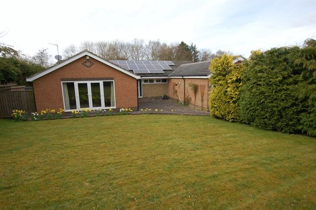 Thumbnail Detached bungalow for sale in Collingwood Crescent, Ponteland, Newcastle Upon Tyne