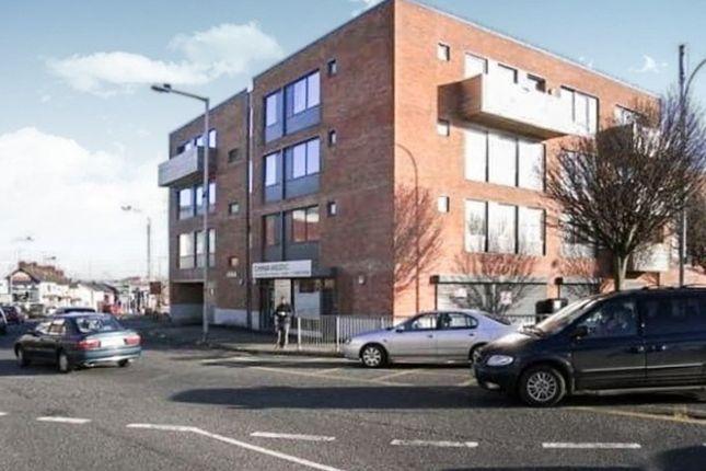 Thumbnail 3 bed flat to rent in Manor House, 49 Longstone Street, Lisburn