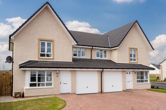 "Thumbnail Semi-detached house for sale in ""Airth"" at Kildean Road, Stirling"