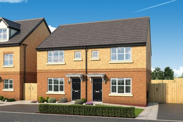 """Thumbnail Property for sale in """"The Laskill At The Woodlands """" at Newbury Road, Skelmersdale"""