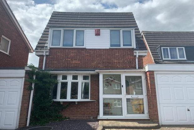 Thumbnail Detached house to rent in Giles Road, Lichfield