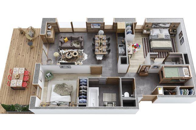 Example 3D Floorplan