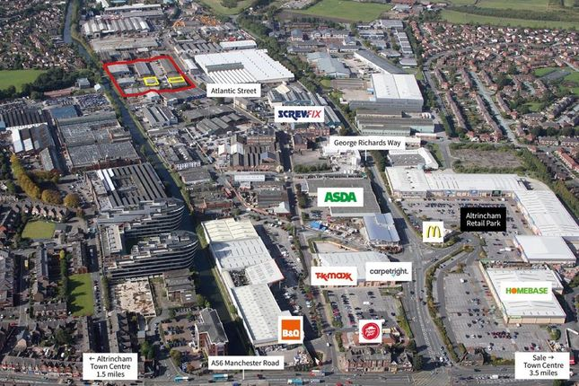 Thumbnail Industrial to let in Unit 4D, Stag Industrial Estate, Atlantic Street, Altrincham
