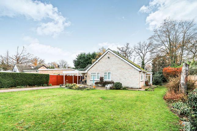 Thumbnail Detached bungalow for sale in Bromham Road, Biddenham, Bedford