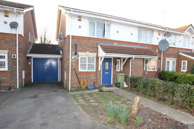 Thumbnail End terrace house for sale in Tollgate Drive, Hayes