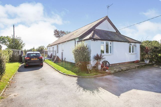 Thumbnail Bungalow for sale in Holmes Chapel Road, Sproston, Crewe, Cheshire