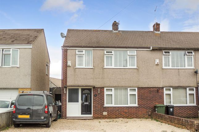 Thumbnail Semi-detached house for sale in Westcourt Drive, Oldland Common, Bristol