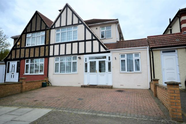 Thumbnail Semi-detached house for sale in Totternhoe Close, Harrow, Kenton, Middlesex