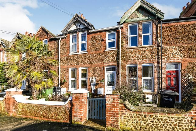 Thumbnail Terraced house for sale in Crescent Road, Hunstanton