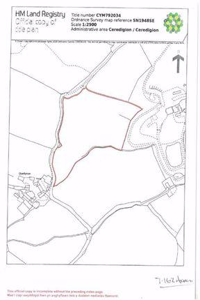 Land for sale in Caemorgan Road, Cardigan, Ceredigion
