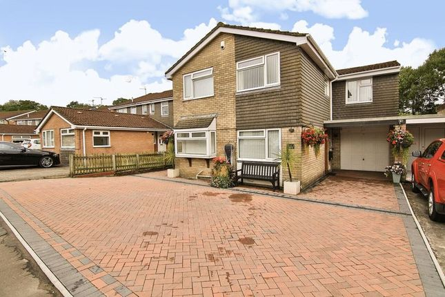 Thumbnail Link-detached house for sale in Hampton Crescent West, Cyncoed, Cardiff