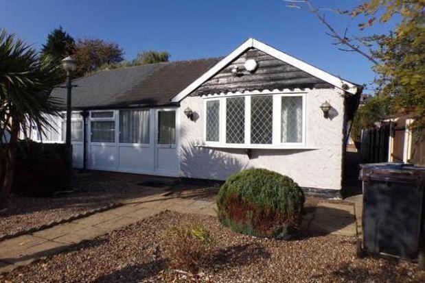 Thumbnail Bungalow to rent in Deakin Road, Birmingham