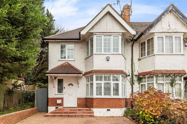 3 bed end terrace house for sale in Hamilton Way, London N3