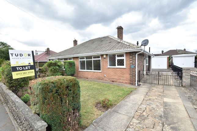 Thumbnail Bungalow to rent in Derwent Avenue, Garforth, Leeds