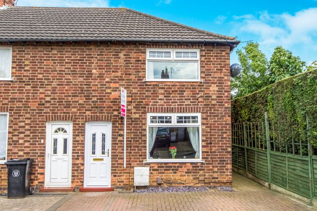 Thumbnail End terrace house for sale in Kingston Avenue, Grantham