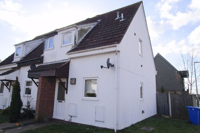 2 bed terraced house to rent in Celandine Close, Carlton Colville, Lowestoft NR33