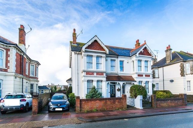 Thumbnail Semi-detached house for sale in Broadwater Road, Worthing, West Sussex