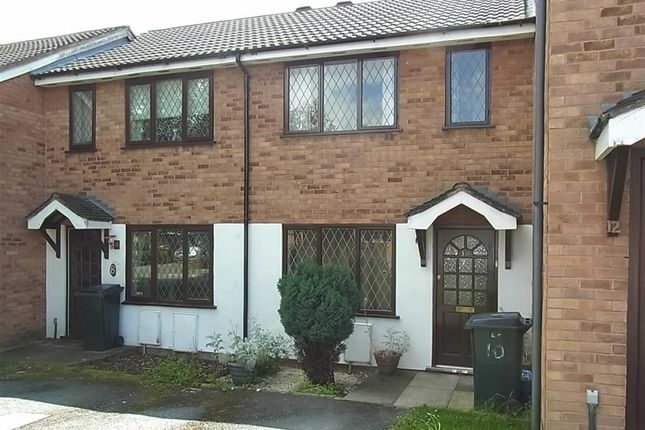 Thumbnail End terrace house to rent in 10, Llys Close, Oswestry, Shropshire