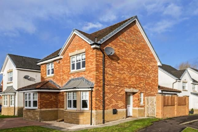 Thumbnail Detached house for sale in Liath Avenue, Motherwell, North Lanarkshire