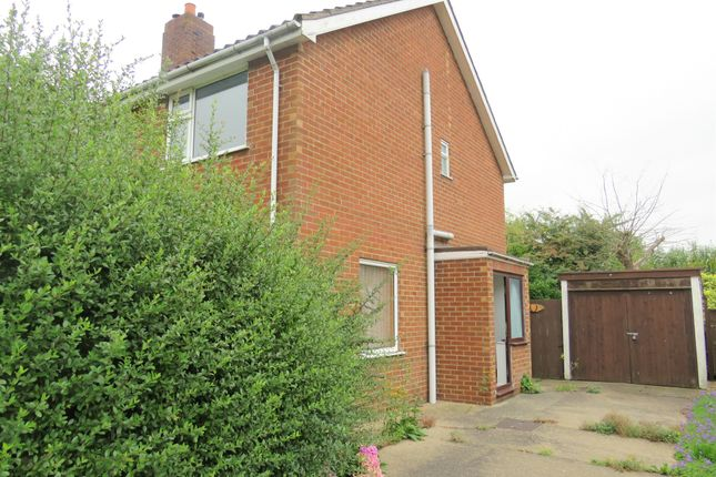 Thumbnail Semi-detached house for sale in North Forty Foot Bank, Wyberton Fen, Boston