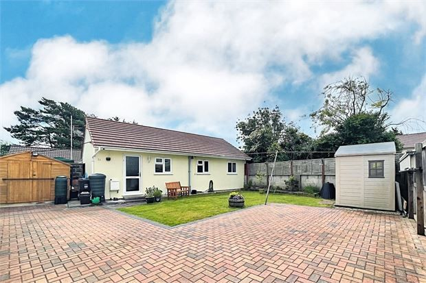 Thumbnail Detached bungalow for sale in Drove Road, Weston-Super-Mare, North Somerset.