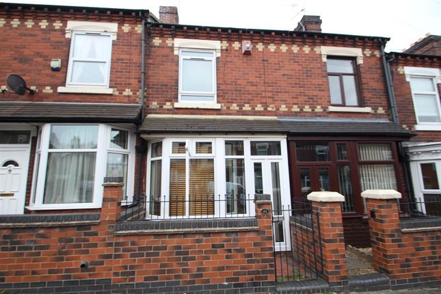 Thumbnail Terraced house to rent in Barthomley Road, Birches Head, Stoke-On-Trent