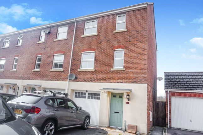 Thumbnail End terrace house for sale in Blacksmith Close, Oakdale, Blackwood