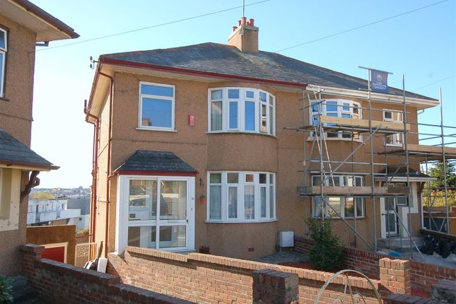 Thumbnail Semi-detached house for sale in Parker Road, Plymouth