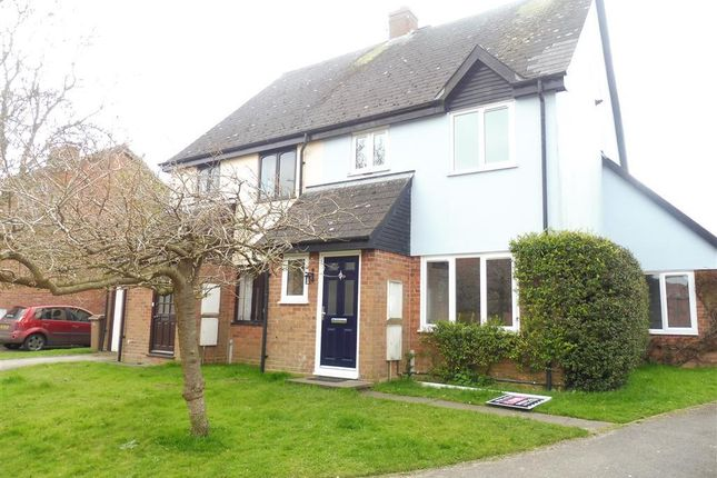 Thumbnail Semi-detached house to rent in Surrey Close, Framlingham, Woodbridge