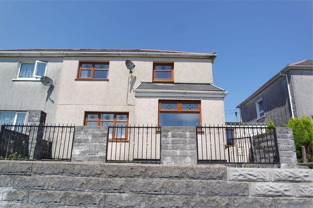Thumbnail Semi-detached house to rent in Ael Y Bryn, Caerau, Maesteg, Mid Glamorgan