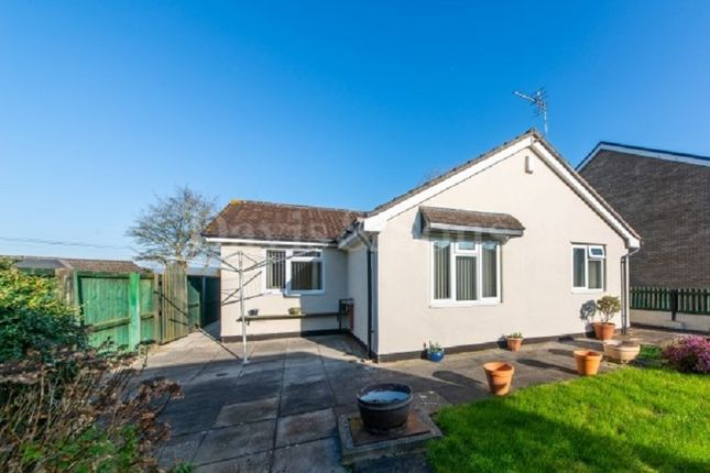 Thumbnail Detached bungalow for sale in Dancing Close, Magor, Monmouthshire .