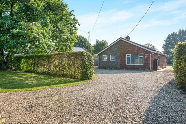 Thumbnail Bungalow for sale in Bressingham, Diss, Norfolk