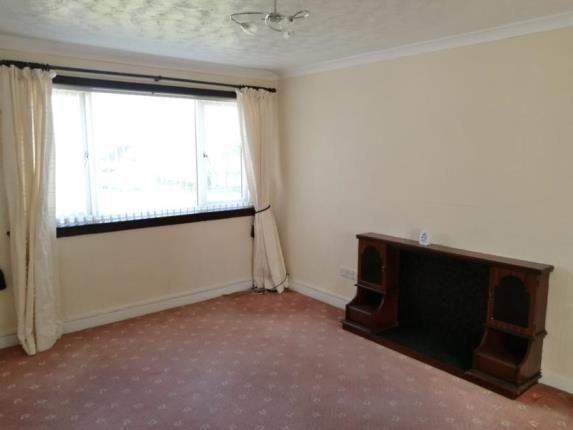 Lounge of Caprington Gardens, Kilmarnock, East Ayrshire KA1