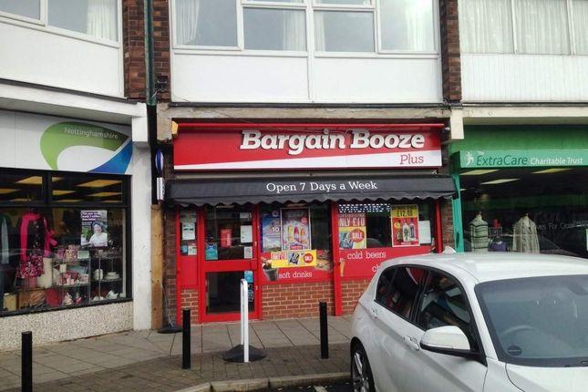 Thumbnail Retail premises for sale in Nottingham NG16, UK