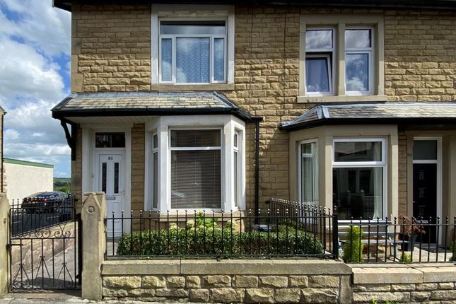 Thumbnail End terrace house for sale in Hapton Road, Padiham, Burnley